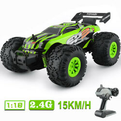 4WD Remote Control Car Terrain Off Road Vehicle Monster Truck RC Cars 2.4G Toys $25.99