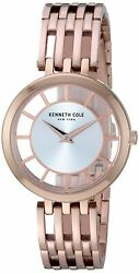 Kenneth Cole New York Women's Stainless Steel Quartz Casual Watch KC50794002 $35.71