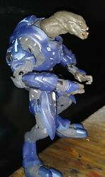 Halo 2010 Fall of Reach Blue Elite Action Figure