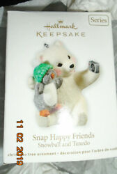 2011 Snowball and Tuxedo Snap Happy Friends Hallmark Keepsake Ornament in Box