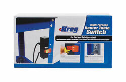 Kreg 9 in. L x 4 in. W Multi Purpose Router Table Switch 1 pc. $49.21