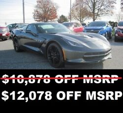 2019 Chevrolet Corvette 1LT 20% OFF MSRP 2019 CORVETTE STINGRAY 1LT