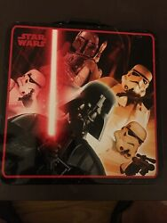Collectable Cool Star Wars Lunch Box New Good For School Lunch Or Work Nice $13.50
