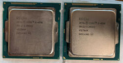 Intel Core i5 3.3Ghz Quad Core Processor Lot Of 2
