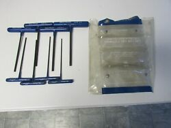 Blue Point AWCG1600 SAE 332 - 14  T-Handle Hex Key Set 6