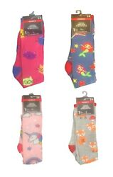 Womens Girls Funky NOVELTY KNEE SOCKS Funny Kitty Cat Mermaid Unicorn Fox CHOOSE $4.97