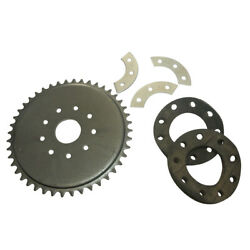 44 Tooth 9 Hole Rear Sprocket Kit For 49cc 66cc 80cc Motorised Bicycle $17.59