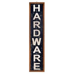 DECORATIVE WALL SIGN by ASHLAND HARDWARE Rustic Vintage Decoration NEW $34.99