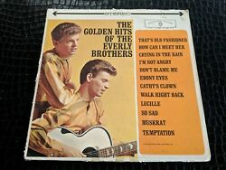 EVERLY BROTHERS THE GOLDEN HITS OF ( WS-1471 LP VINYL RECORD GOLD LABEL $5.99