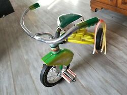 Murray Vintage Tricycle green yellow rat fink hotrod ratrod ed Roth 60s 70s $459.00
