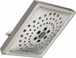 Delta Faucet 3-Spray H2Okinetic Shower Head Stainless 52684-SS $192.47