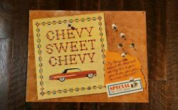 Vintage Chevy Sweet Chevy 1961 Advertising Brochure Impala Corvair Biscayne $14.99