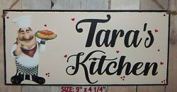 FAT CHEF ITALIAN PERSONALIZED SIGN WALL KITCHEN BISTRO CUCINA DECOR ANY NAME $12.95