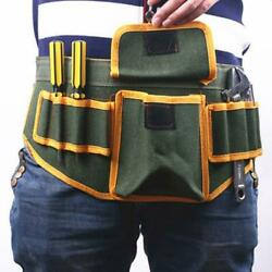 Electrical Tool Bag Waist Hanging Belt Holder Multifunction canvas toolbox $10.49