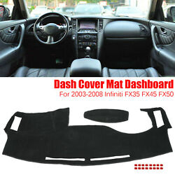 Dash Cover Dashmat Dashboard Mat Pad Anti Sun For 03 08 Infiniti FX35 FX45 FX50 $15.55