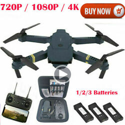 Drone X Pro WIFI FPV 4K HD Camera 3 Battery Foldable Selfie RC Quadcopter Drone $47.45