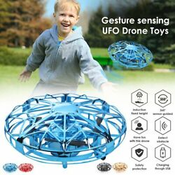 Mini Drones 360° Rotating Smart Mini UFO Flying Ball Drone for Kids Toys Gifts $19.65