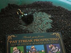 1 Gram fine Gold Guaranteed in a Troy lb of BLACK SAND Paydirt 13 oz No Nuggets $80.00