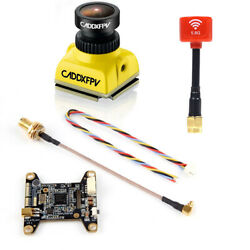 Caddx Baby Ratel Mini FPV Camera with Atlatl HV V2 VTX amp; Lollipop 3 Antenna $54.67