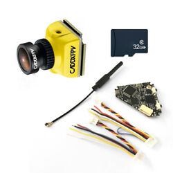 Caddx Baby Ratel Mini FPV Camera with NameLessRC D400 VTXDVR AIO amp; 32G TF Card $57.95