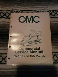 OMC Outboards Commercial Service Manual 65 100 155 Models