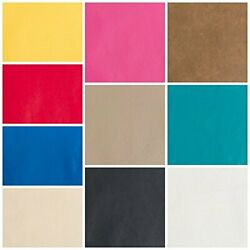 Faux Leather Upholstery Pleather Vinyl Fabric Choose Your Color  $12.99