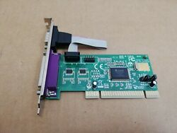 GENUINE StarTech PCI2S1P PCI to Serial Parallel Port Combo Card $14.90