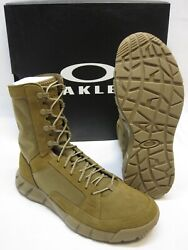 OAKLEY LT ASSAULT 2 ARMY OCP MILITARY COMBAT BOOTS COYOTE BROWN TACTICAL BOOT $159.95