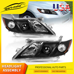 Head Lamp Assembly for 2007 2009 Toyota Camry Projector Headlights Headlamps Set $94.88