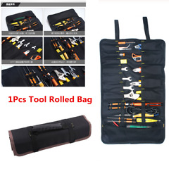 Motorcycle Tools Bag Multifunction Oxford Pocket Toolkit Rolled Bag Portable $17.90