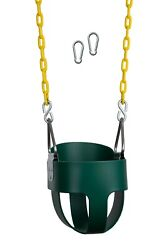New Bounce Outdoor Baby Toddler Swing Seat with Heavy Duty Rust Proof Chain $39.99