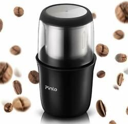 Electric Coffee Grinder Portable, with Stainless Steel Blade Removable, Up to 12 $22.94