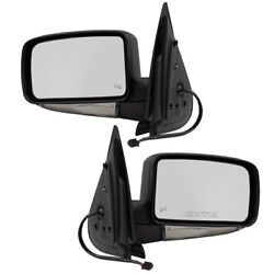 Pair Mirrors for Expedition Navigator Power Folding Heated Signal Puddle Lamp $217.58