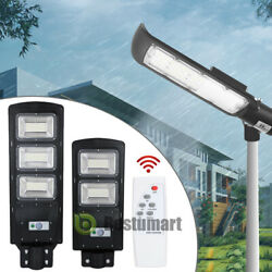 Solar LED Commercial Road Street Light 90W Outdoor Flood Shoebox Industrial Lamp