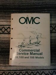 OMC Commercial Service Manual Models 65 100 155 1984