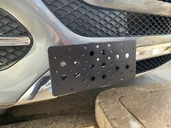 Front Bumper Tow Hook License Plate Mount Bracket for Mercedes-Benz GLE 350 $34.95