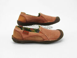 Keen Women Shoe Golden Summer Size 7M Orange Loafer Casual Athletic Pre Owned jq $42.95