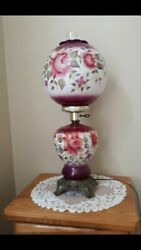 Vintage Gone W The Wind Lamp  Buyer Will Be Responsible For Shipping Insurance