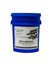 ICS GA 8K 5 Replacement Atlas Copco Lubricant 5 Gallons OEM EQUIVALENT $195.00