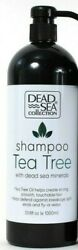 Dead Sea Collection 33.8 Oz Tea Tree Oil Strong Hair Shampoo with Minerals $15.99