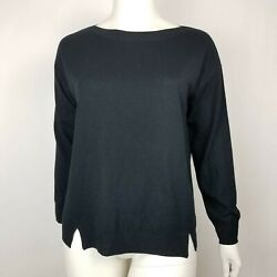 14th Union Womens Sweater Black Nordstrom Plus Size 1X NWT $18.99