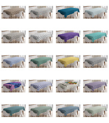 Ambesonne Abstract Design Tablecloth Table Cover for Dining Room Kitchen $32.99