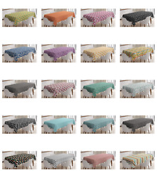 Ambesonne Abstract Shapes Tablecloth Table Cover for Dining Room Kitchen $30.99