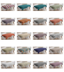 Ambesonne Abstract Tablecloth Table Cover for Dining Room Kitchen $32.99
