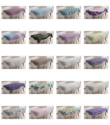 Ambesonne Unicorn Party Tablecloth Table Cover for Dining Room Kitchen $30.99