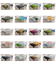 Ambesonne Nature Scenery Tablecloth Table Cover for Dining Room Kitchen $32.99