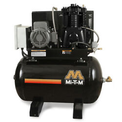 MI-T-M ACS-46375-80HM M Series Horizontal Air Compressor7.5