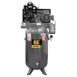 BE PRESSURE SUPPLY AC1080B3 Industrial Air Compressor80 gal.3-