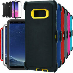For Samsung Galaxy S8 S8 + Plus Shockproof Hard Case Clip Fits Otterbox Defender $6.39