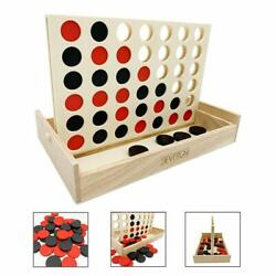 Connect 4 Small Outdoor Games Yard Big Huge Four Lawn Wooden Jumbo 42 Chip $24.47